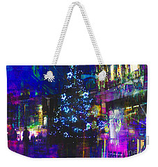 Weekender Tote Bag featuring the photograph A Bright And Colourful Christmas by LemonArt Photography