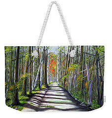 A Bright Autumn Day  Weekender Tote Bag