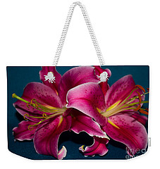 A Bunch Of Beauty Floral Weekender Tote Bag