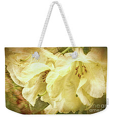 Weekender Tote Bag featuring the photograph A Bunch Of Birthday Wishes by Jean OKeeffe Macro Abundance Art