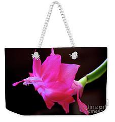 A Cactus Flower Weekender Tote Bag