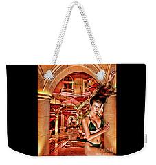 A Callipygian Figure Weekender Tote Bag