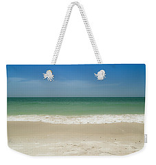 A Calm Wave Weekender Tote Bag by Christopher L Thomley