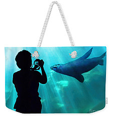 A Captured Moment  Weekender Tote Bag