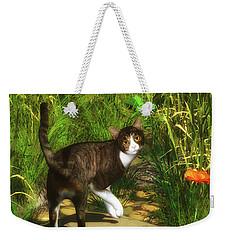 A Cat Turns Around Weekender Tote Bag