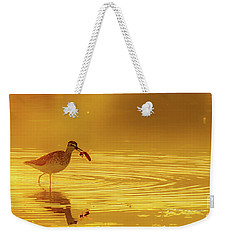 Weekender Tote Bag featuring the photograph A Catch by Jivko Nakev