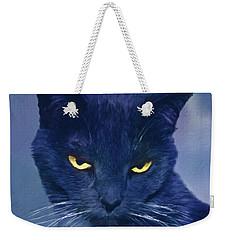A Cat's Dark Night Weekender Tote Bag