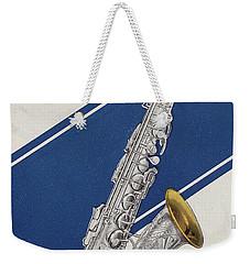 A Charles Gerard Conn Eb Alto Saxophone Weekender Tote Bag by American School