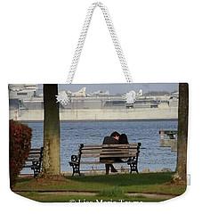 A Charleston Kiss Weekender Tote Bag