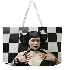 A Checkered Past... Weekender Tote Bag