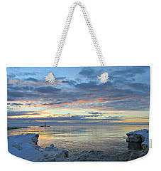 A Chilly View Weekender Tote Bag by Greta Larson Photography