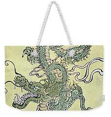 A Chinese Dragon Weekender Tote Bag