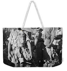A Chinese Nationalist Soldier Weekender Tote Bag