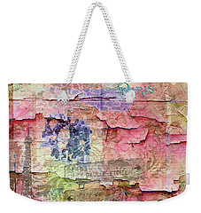 A City Besieged Weekender Tote Bag by Paula Ayers