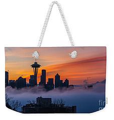 A City Emerges Weekender Tote Bag by Mike Reid