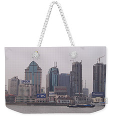 A City On A Hill Weekender Tote Bag