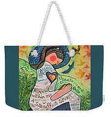 A Clean Heart Weekender Tote Bag