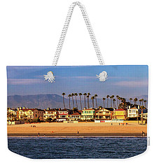 Weekender Tote Bag featuring the photograph A Clear Day At The Beach by James Eddy