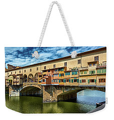 A Closer Look To Ponte Vecchio Weekender Tote Bag