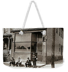 A Coal Miners Bar  George Ave Parsons Pennsylvania Early 1900s Weekender Tote Bag