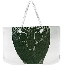 A Cobra With Raised Head And Flared Hood  Weekender Tote Bag