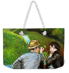 A Coke- A Daisy-a Promise  Weekender Tote Bag