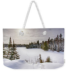 A Cold Algonquin Winters Days  Weekender Tote Bag