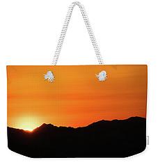 A Colorado Sunset Weekender Tote Bag