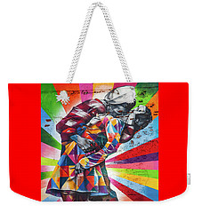 A Colorful Romance Weekender Tote Bag by Az Jackson