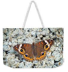 A Common Buckeye Weekender Tote Bag
