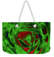 A Complimentary Rose Weekender Tote Bag