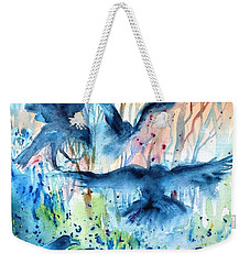 A Conspiracy Of Ravens  Weekender Tote Bag