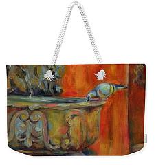 A Cool Drink Weekender Tote Bag by Chris Brandley
