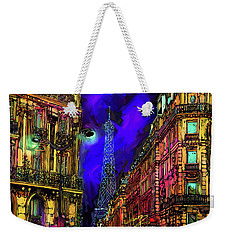 A Corner In Paris Weekender Tote Bag