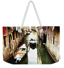 A Corner In Venice Weekender Tote Bag