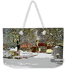 A Cosy Home Weekender Tote Bag
