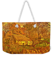 A Cotswald Fall  Weekender Tote Bag by Daniel Thompson