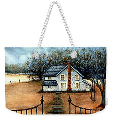 A Country Home Weekender Tote Bag
