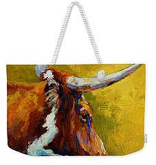 A Couple Of Pointers - Longhorn Steer Weekender Tote Bag