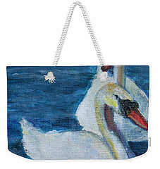 A Couple Of Swans Weekender Tote Bag