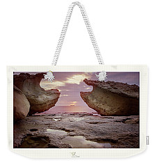 A Crab Stone, By The Cosmic Joker Weekender Tote Bag