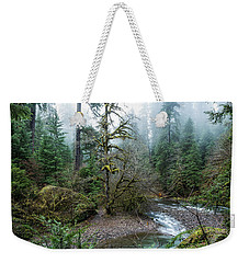 A Creek Runs Through It Weekender Tote Bag