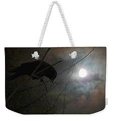 A Crow Moon Weekender Tote Bag