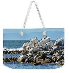 A Crowded Bird Rock Weekender Tote Bag