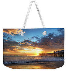 A Crystal Sunset Weekender Tote Bag by Joseph S Giacalone