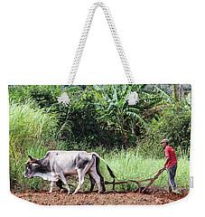 A Cuban Tractor Weekender Tote Bag