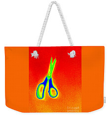 Heat Map Scissors A Cutting Remark Weekender Tote Bag