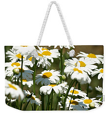 A Daisy A Day Weekender Tote Bag by DeeLon Merritt