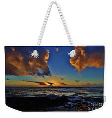 A Dali Like Sunset Weekender Tote Bag by Craig Wood