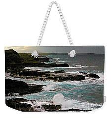 A Dangerous Coastline Weekender Tote Bag